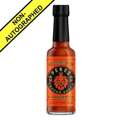 Perez Pepper Sauce 'Habanero' Flavor (Without Autograph)