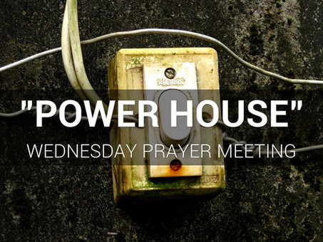 An Invitation to Join our Prayer Meeting