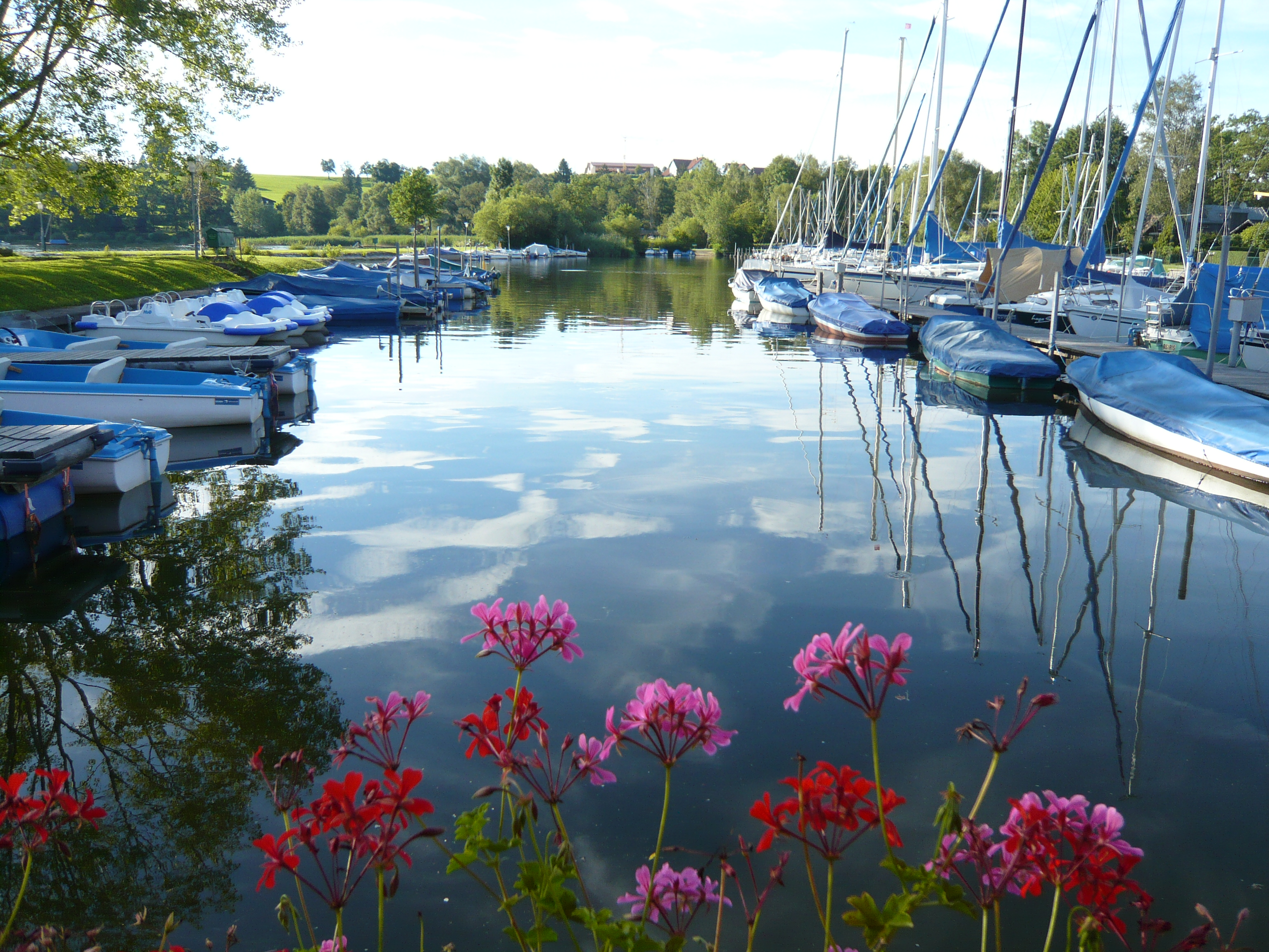 Hafen am Wallersee