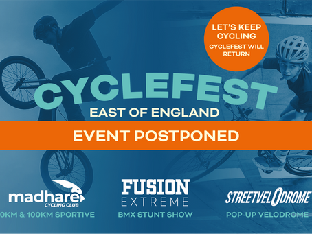 CycleFestEvent Postponed