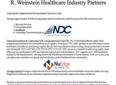 Weinstein Healthcare Industry Partners