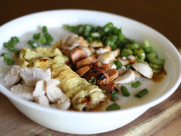 Chicken Rice Porridge Recipe (Congee)