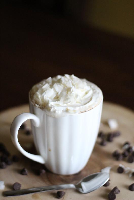 Delicious Coffee With Coconut Milk