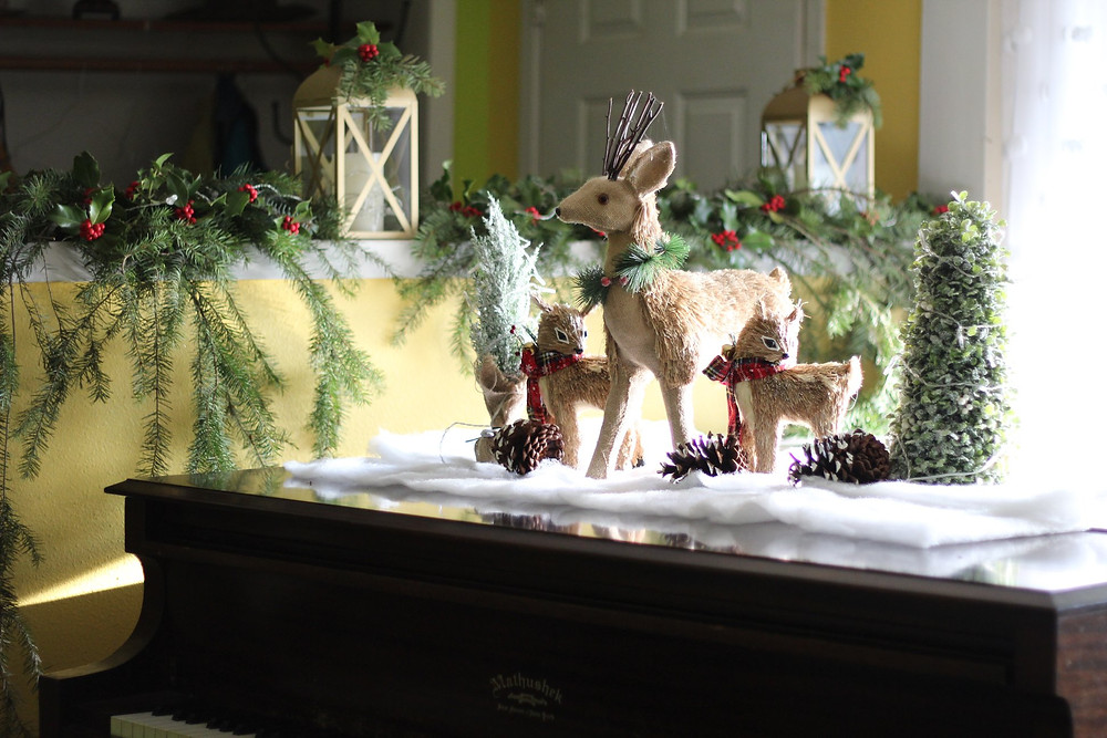 reindeer for christmas decor