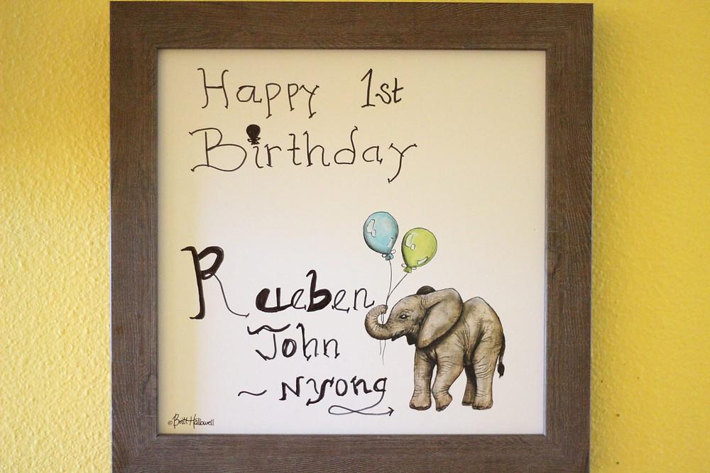 barn birthday cake