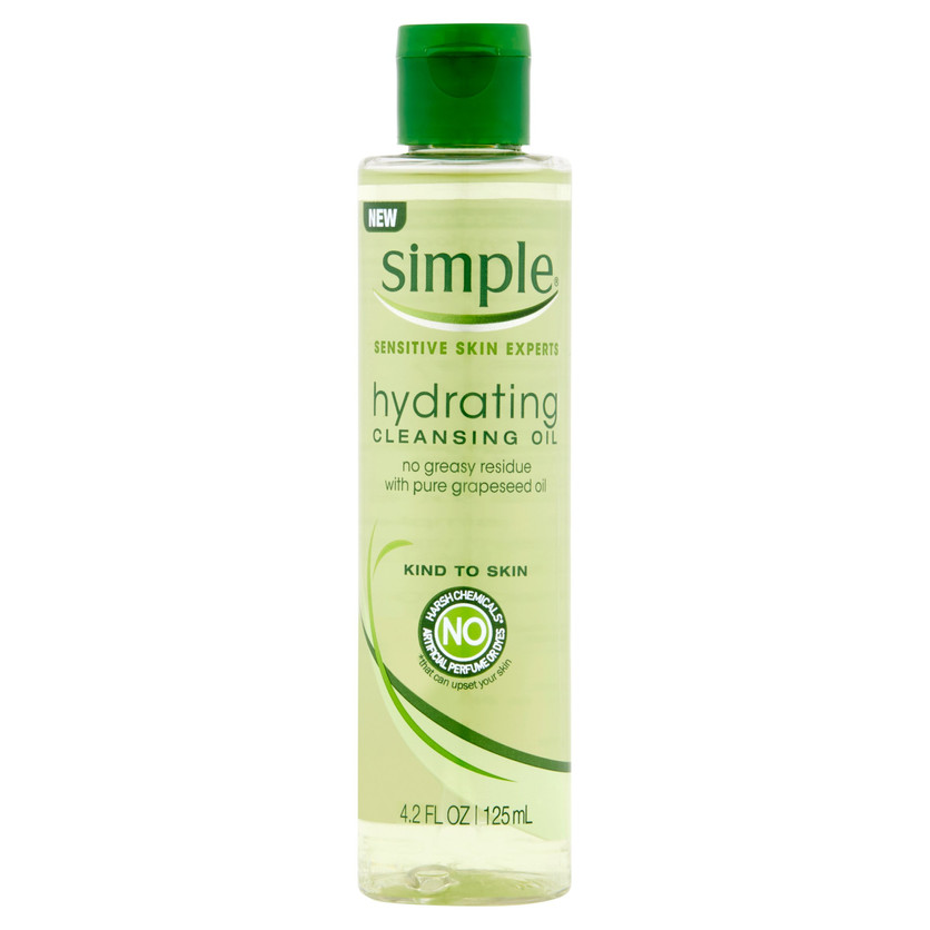 Simple Sensitive Skin Cleansing Oil