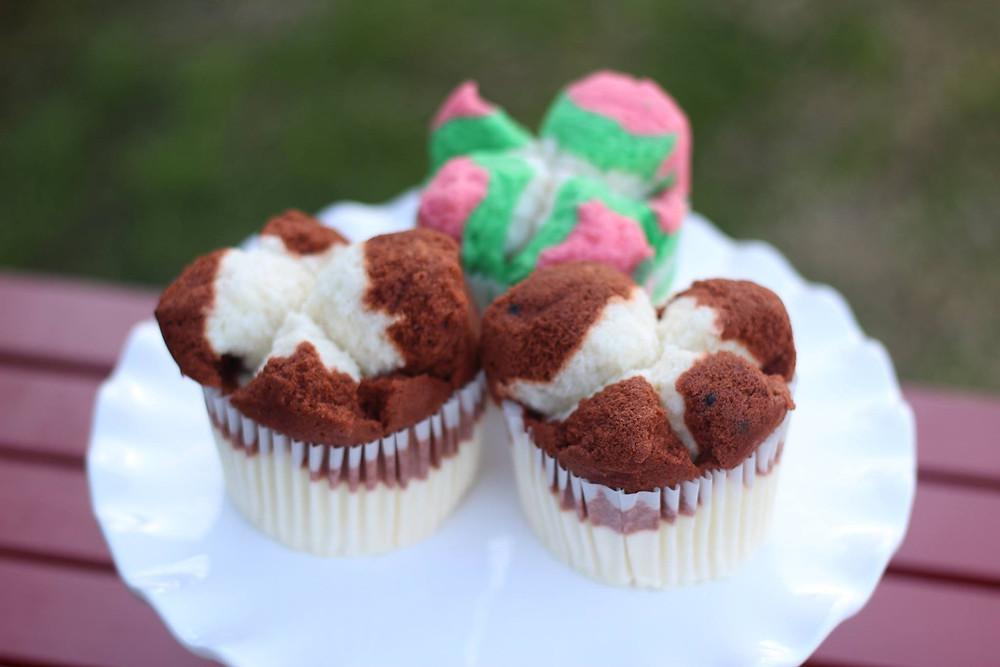 steam cupcakes, bolu kukus