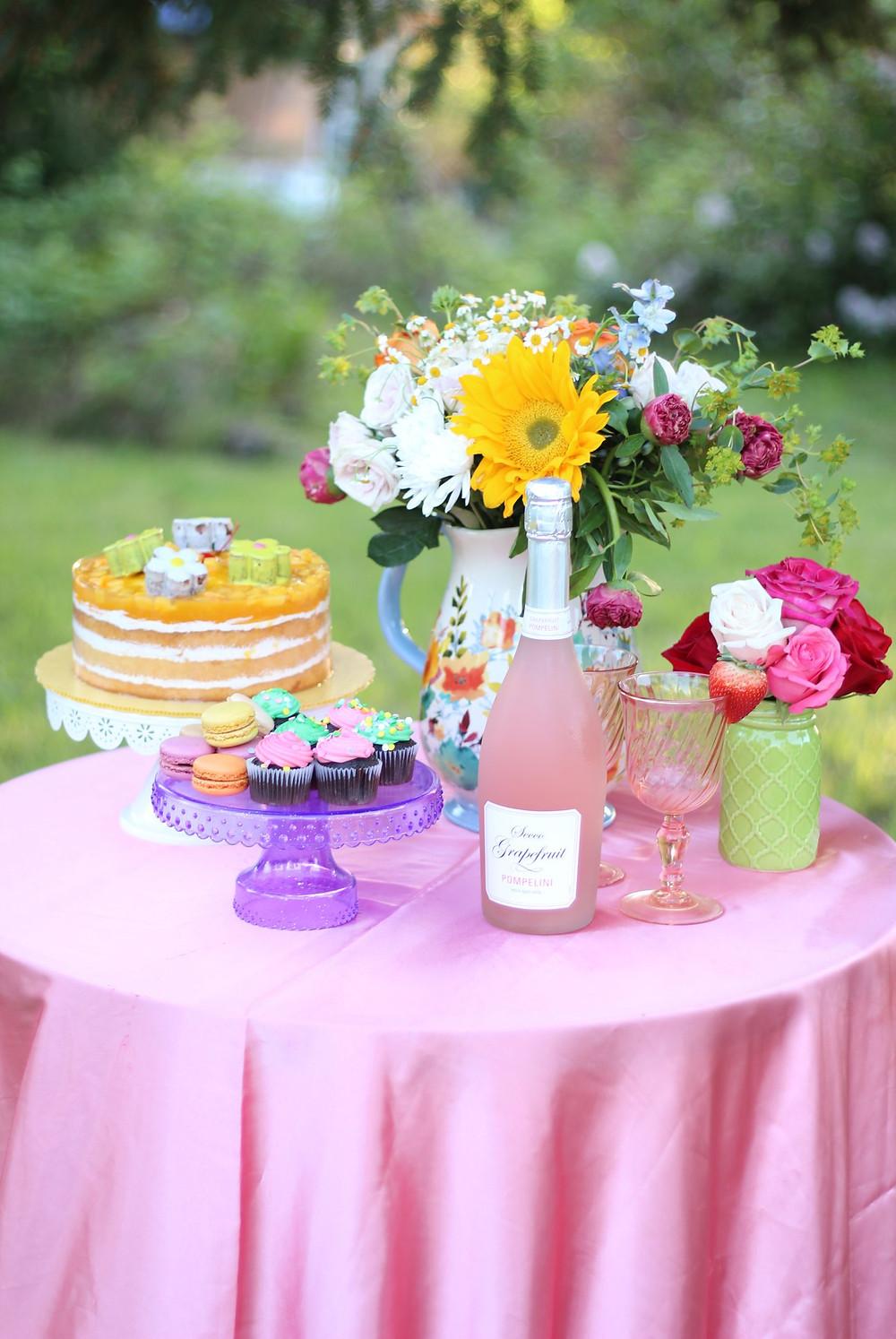 Mother's day garden party decor