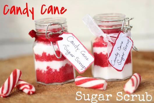 Candy Cane Body Scrup
