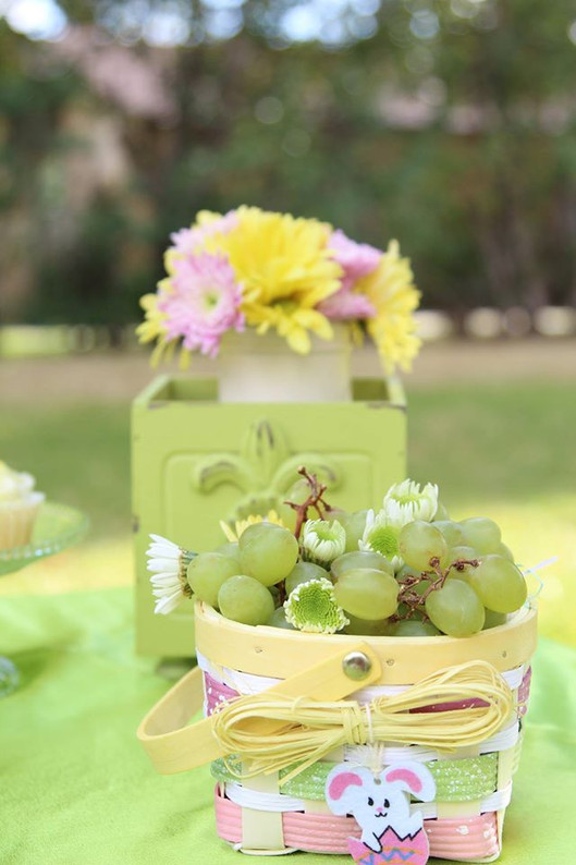 Shabby Chic Easter Party Decor
