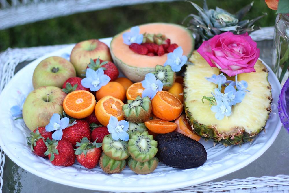Fruit platter decor
