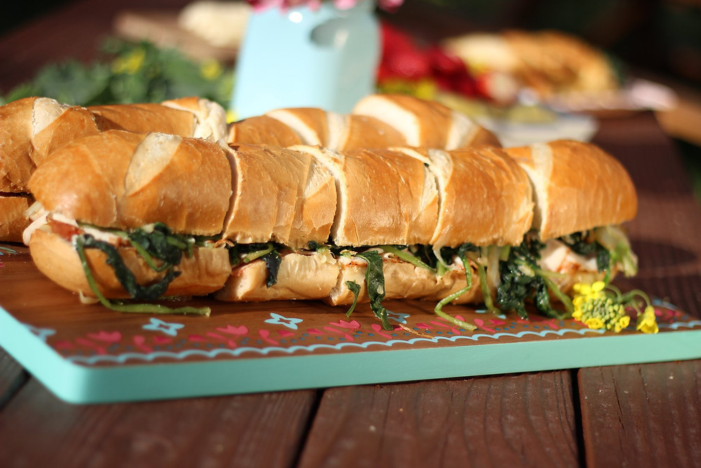 Spinach and melted Mozzarella Panini Recipes