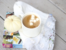 Pumpkin Spice Latte Using Coconut Milk
