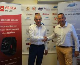 Générale des Services et Arkea Assistance annoncent un partenariat national pour la Silver Economie