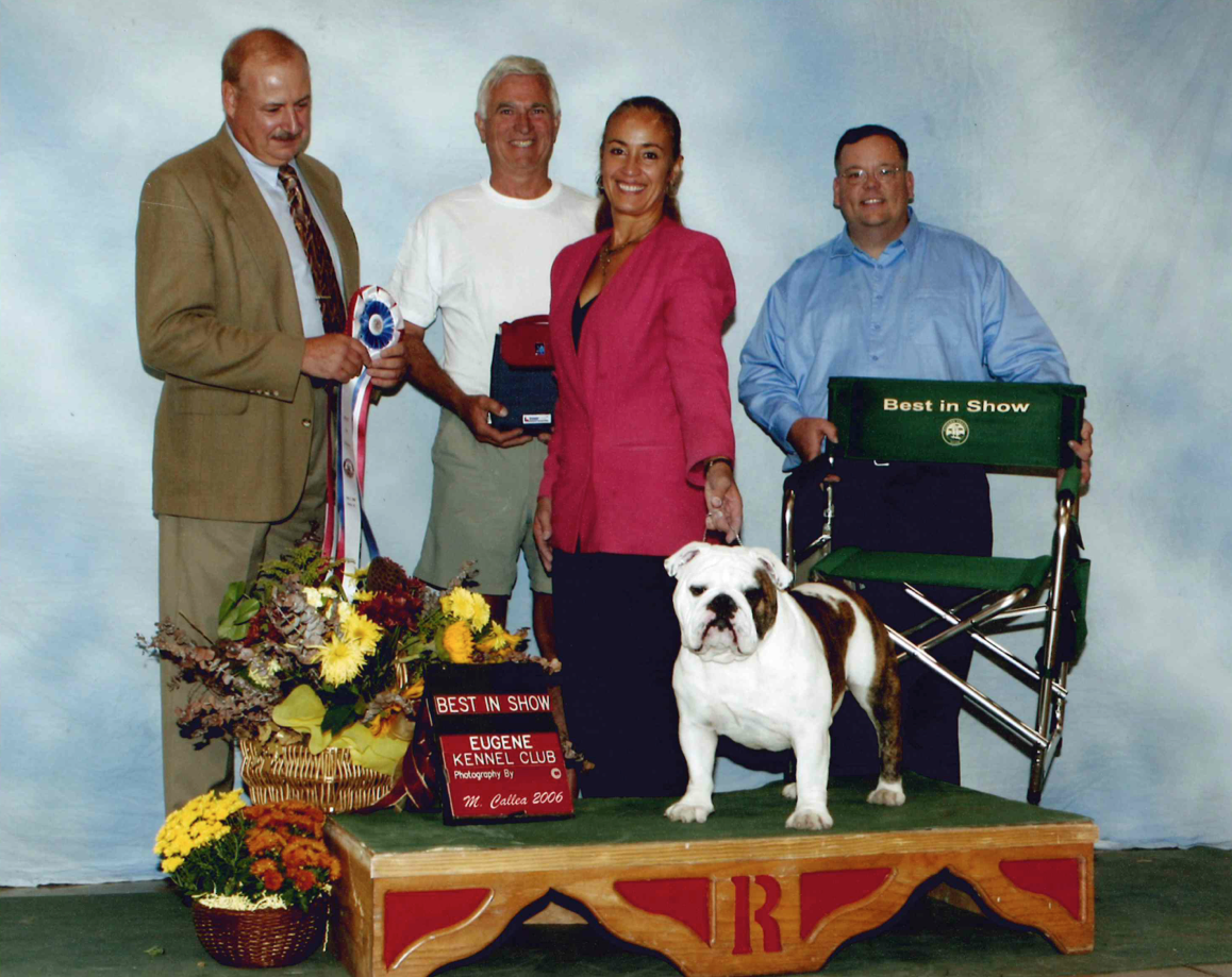 CH Majestic Willy McKee Best in Show