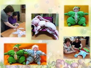 В мастерской не устаем – новых кукол создаем!