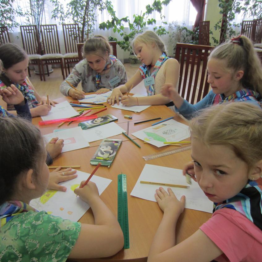 «Московская смена», на базе ГБУ РЦдИ «Ремесла», посетила ФОК «Савелки» (4)