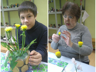 Отражаем природу в мастерской «Керамической флористики»