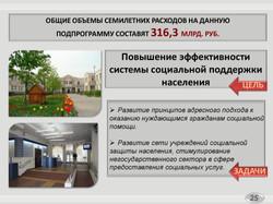 Государственная программа на Социальная поддержка жителей города Москвы (25)