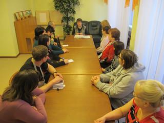 Информационная встреча со специалистом Управления ПФР в нашем     Центре.