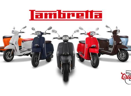 De nieuwe lambretta V-special