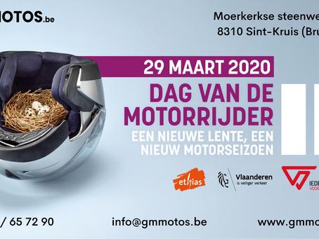 Geannuleerd - Dag van de motorrijder 2020