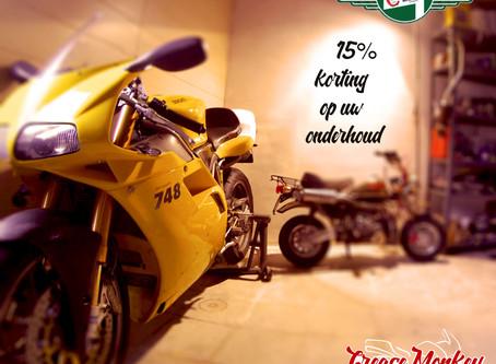 Help je moto door zijn winterslaap