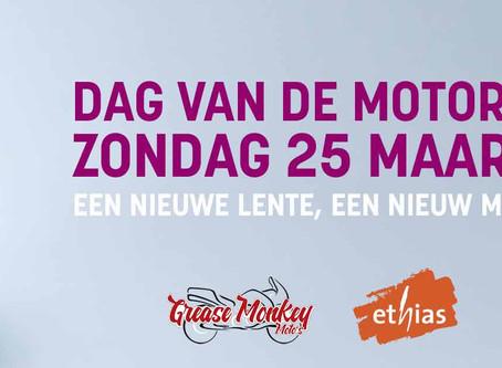 Dag van de motorrijder - 25 maart 2018