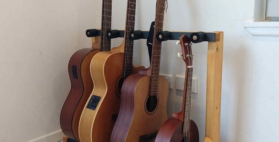 Premium 4 Guitar Rack with peg neck spacers