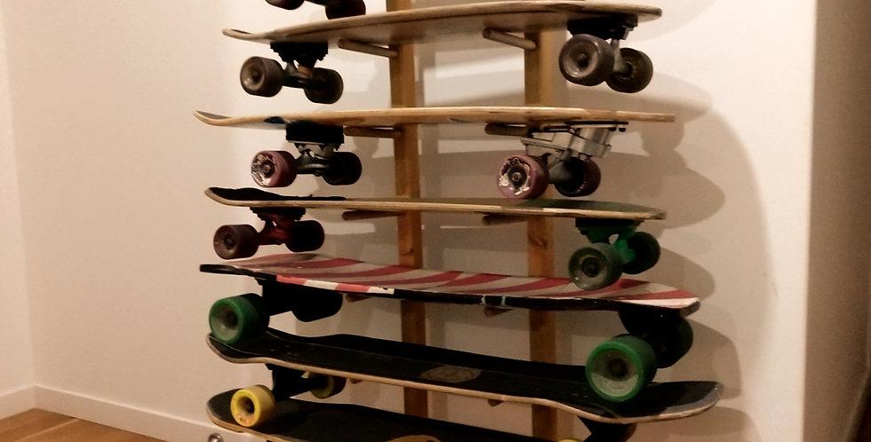 SLIM-LINE 8 Skateboard Rack