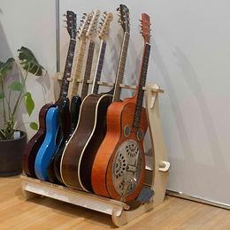 Guitar Rack - Birch ply with Felt.JPG