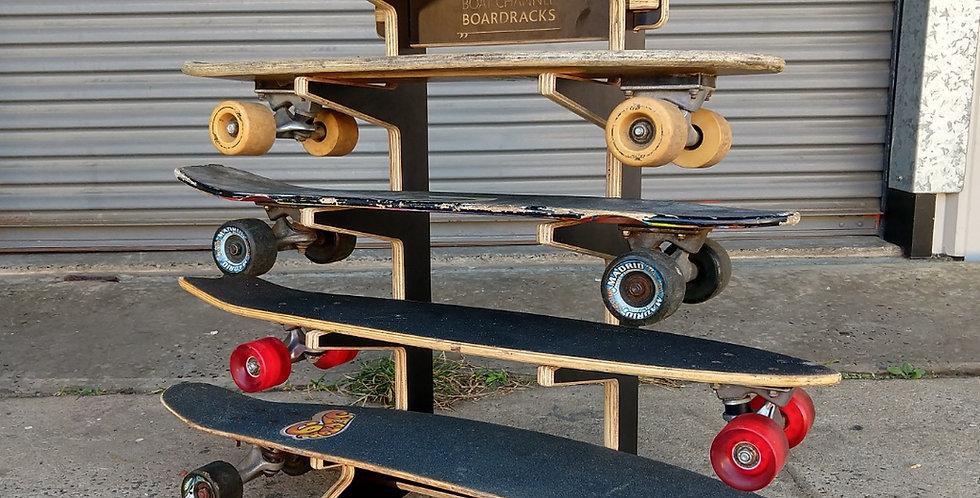 5 Skateboard Rack