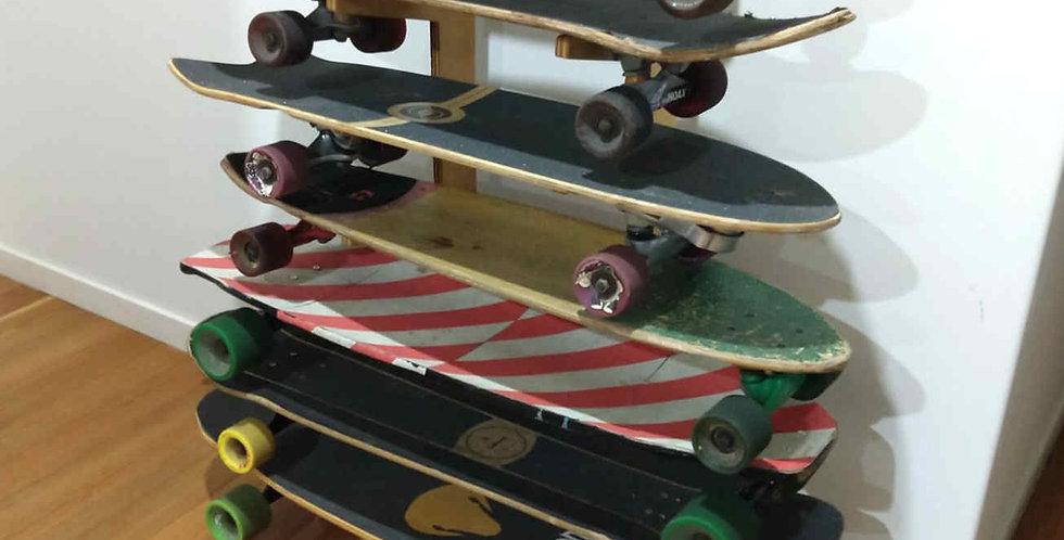 7 Skateboard Rack
