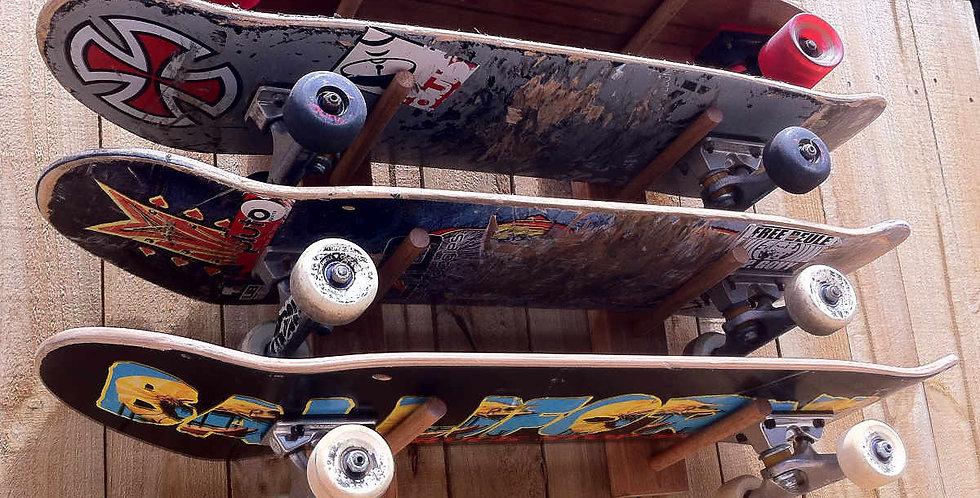 4x skateboard rack WM