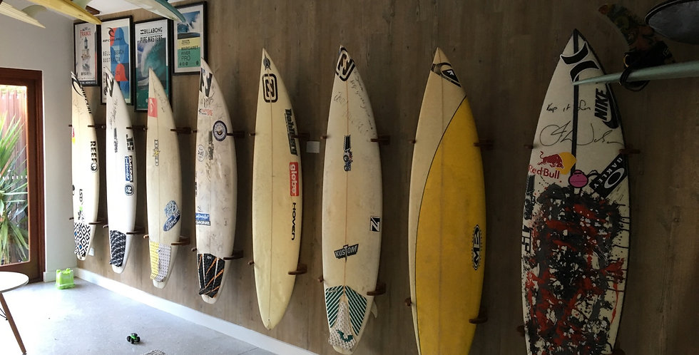 Surfboard Clamp Racks