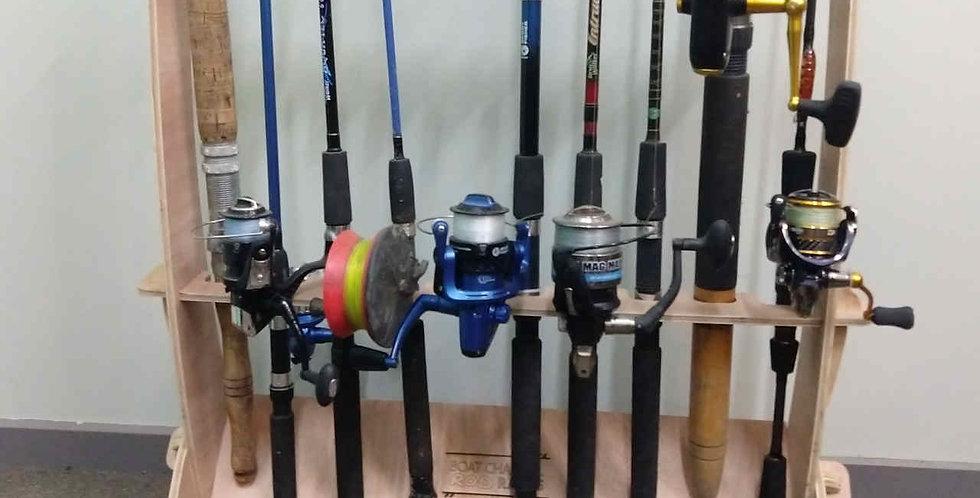 Flat pack Fishing Rod Rack