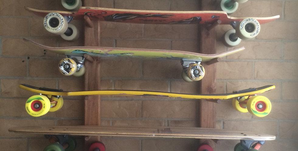 8 board skateboard rack WM