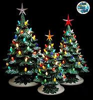 Vintage Ceramic Christmas Trees.jpg