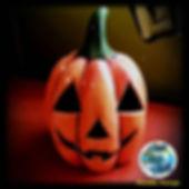 Ceramic Jack O'Lantern