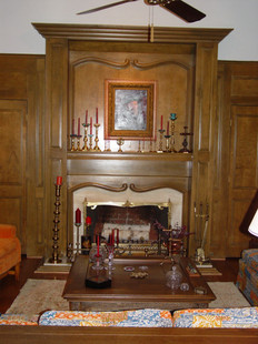Trditional Fireplace