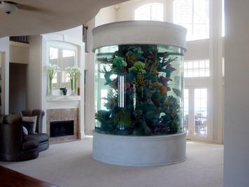 500 gl. Round Aquarium