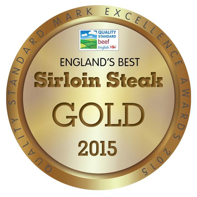 England's Best Sirloin Steak 2015 - GOLD