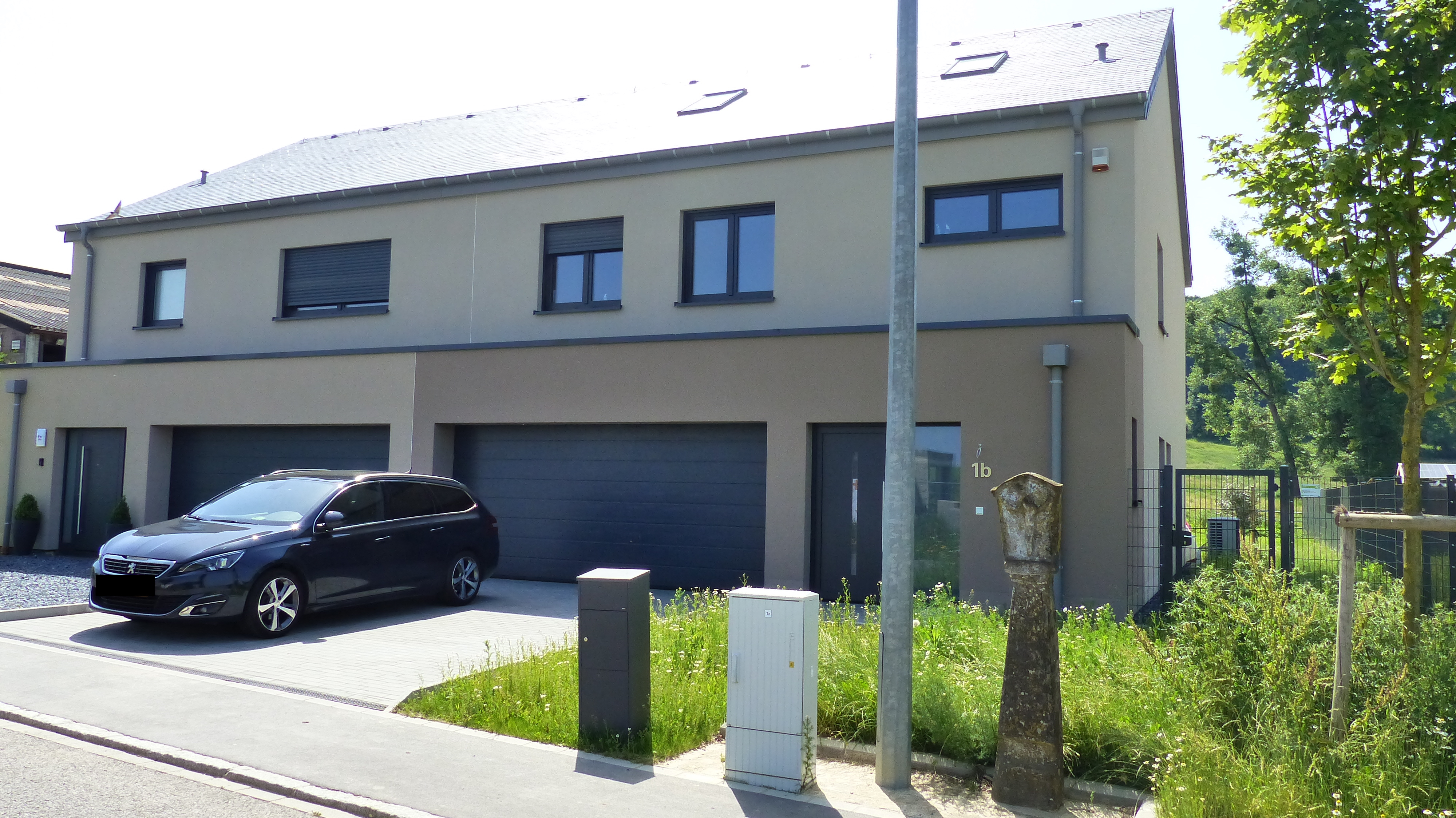 Deux maisons jumelées à Ehner