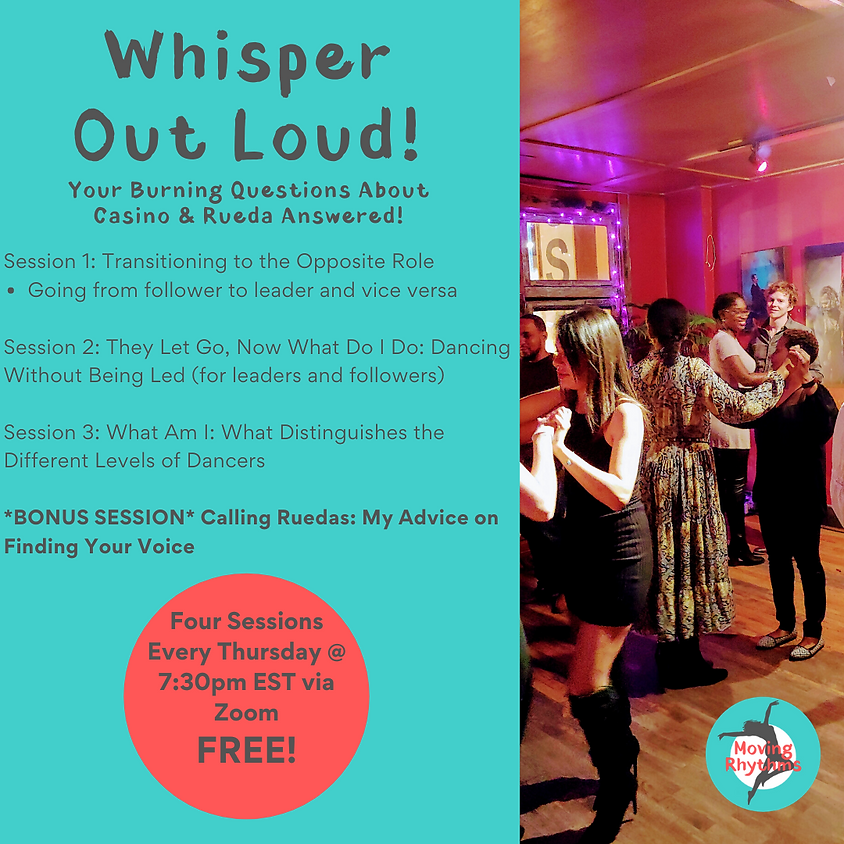 Whisper Out Loud!