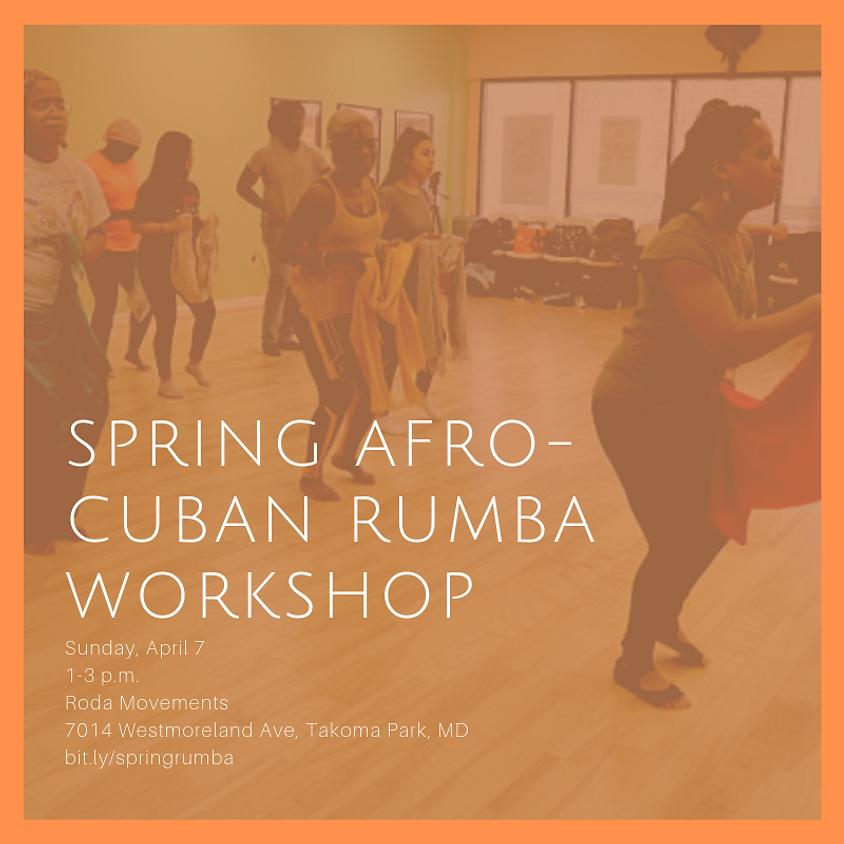 Spring Afro-Cuban Rumba Workshop (1)