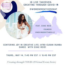 Rumba & Mindfulness with Women Creatives Chat
