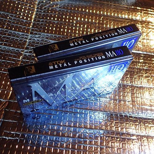 TDk カセットテープ メタル