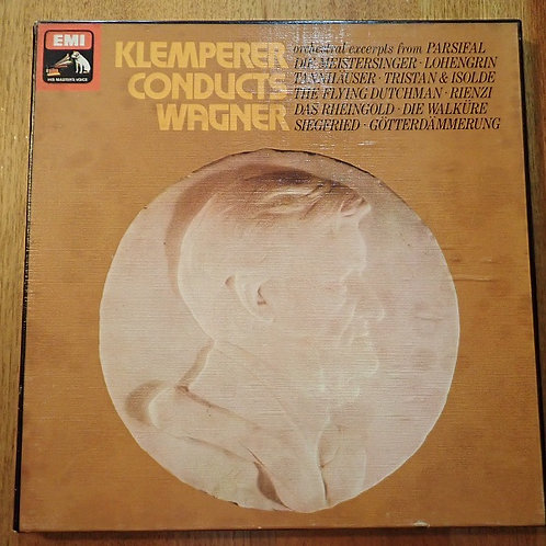 EMI Sクレンペラー指揮/KLEMPERER CONDUCTS WAGNER  3LPBOX