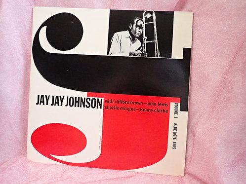 BLUE NOTE LP JYA JAY JOHNSON