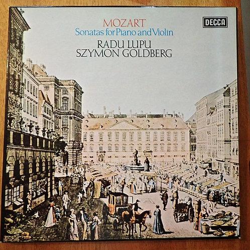 モーツァルト MOZART DECCA -SONATAS FOR PIANO AND VIOLIN- 13 BB 207/212